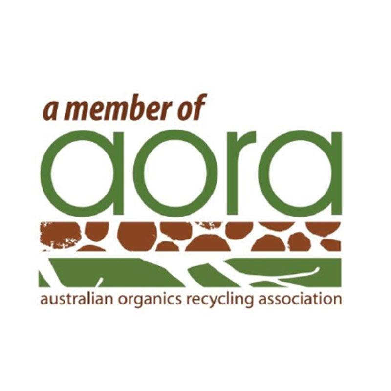 sustainable packaging partner AORA logo