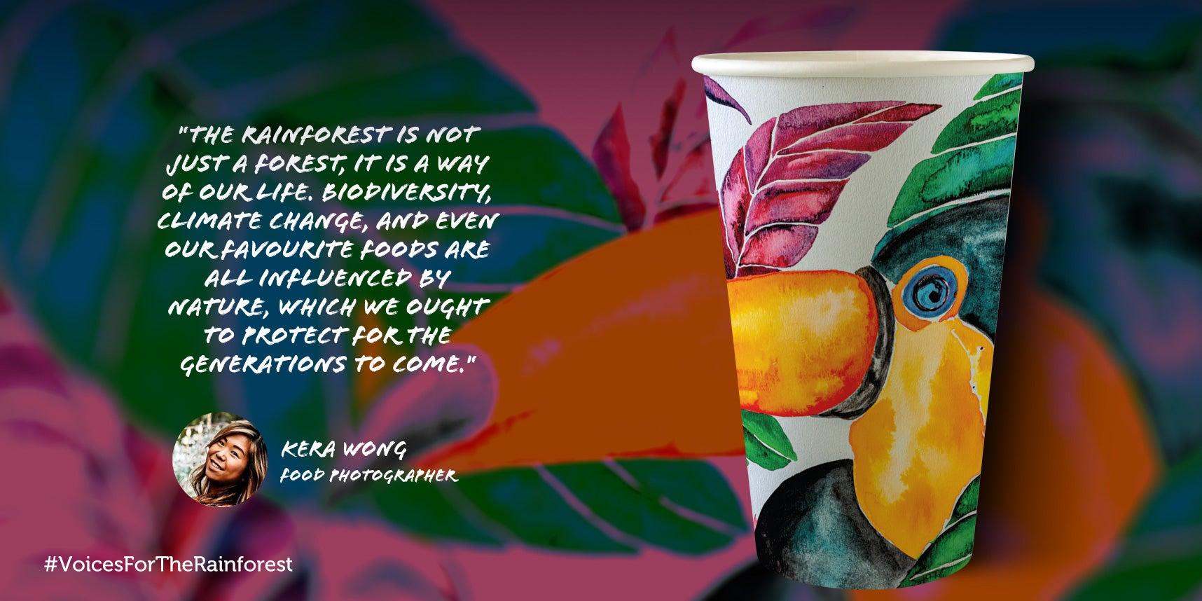 Kera Wong paper cup design