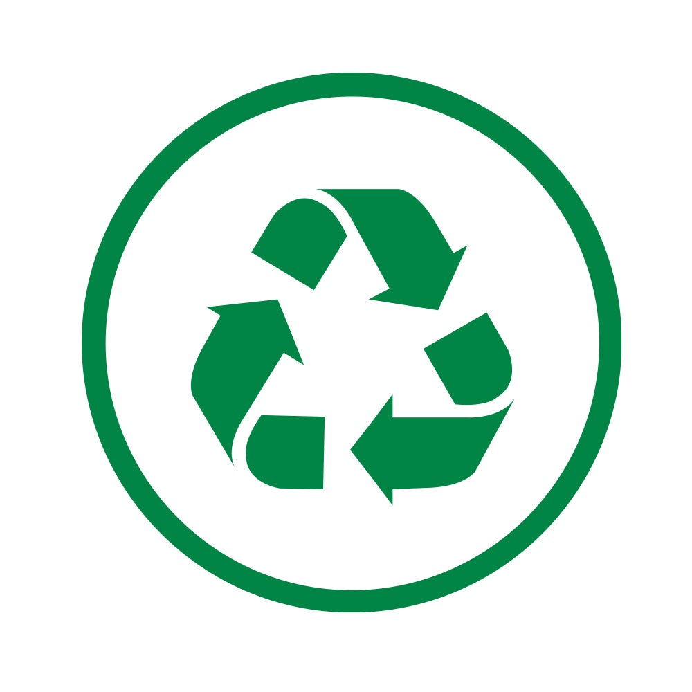 Bagasse is recyclable