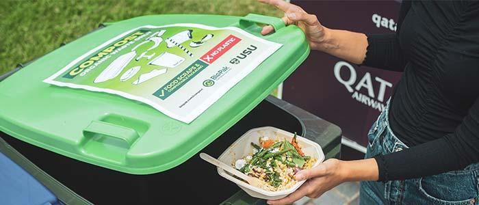 campus compost bin