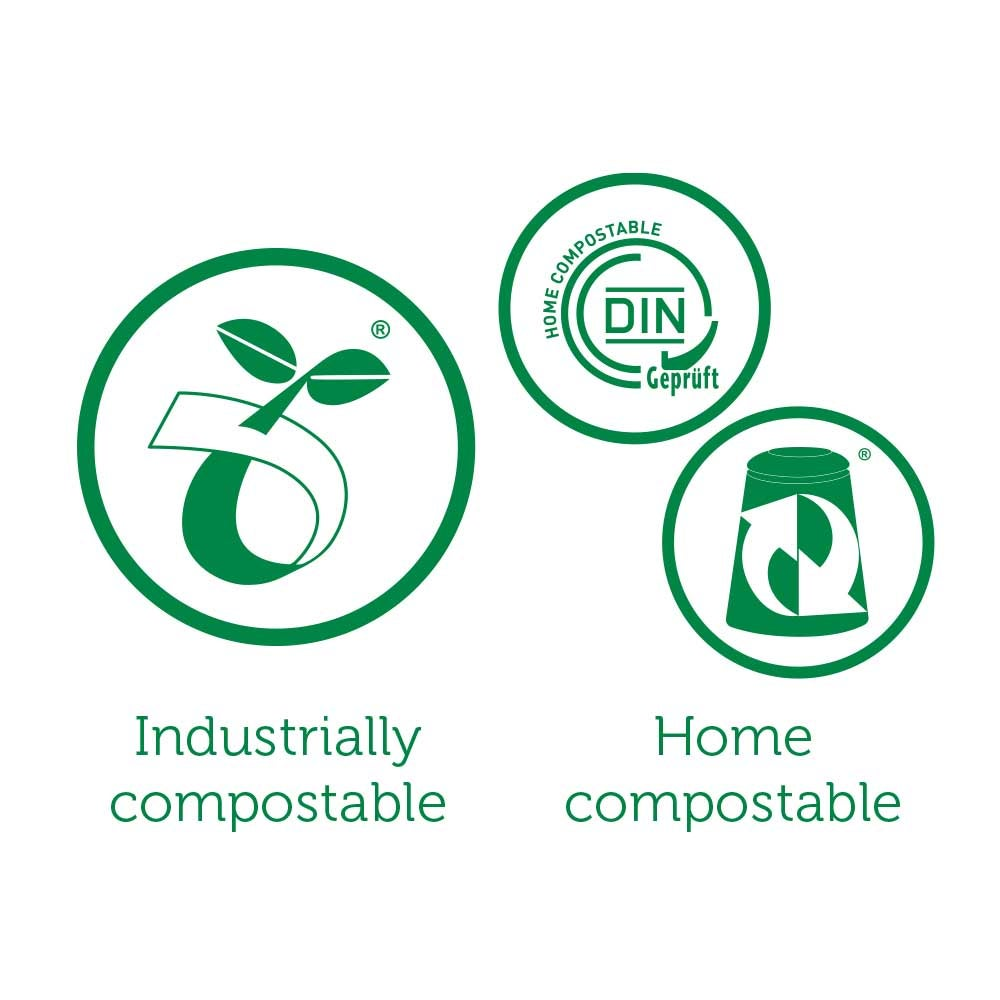 image of the different composting standards and logos