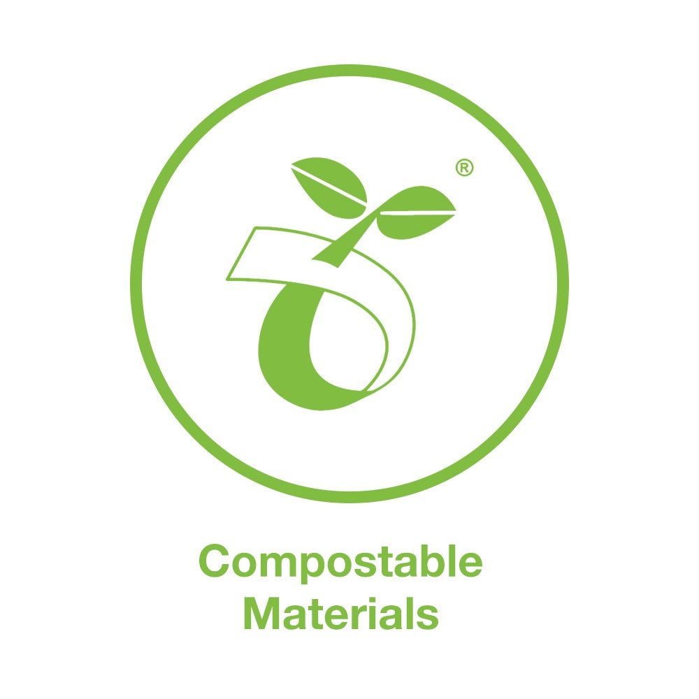 compostable materials icon